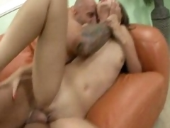 Kita Zen gets her pink oriental pussy drilled hard my a massive hard dick