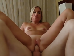 Golden-haired hottie Sexy Suz gets nailed and enjoys intensive pelasure while fucking with Patrick J Knight