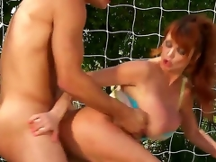 Taylor Wane is a professional tennis player. This hottie always wins, but today is not her favourable day. This hottie had lost the game and that males prise is an awesome oral-job and a wonderful fuck.