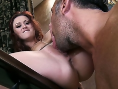 Stop wasting time looking for something nifty 'cuz the treasure is previous to you! Now u should watch how Karlie Montana is getting her loving aperture licked so well by Keiran Lee.