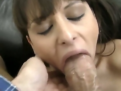Rocco Siffredi, one time again, is getting his dick sucked by a beautiful gal, and this time its none other than Alison Star. Her bonks her face hole good, too, and in full POV!