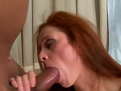 Each guy on the planet wanted to feel really experienced woman like Chloe. This sexy milf takes Sledge Hammers 10-Pounder really deep. This babe has large experience in sucking large dicks.