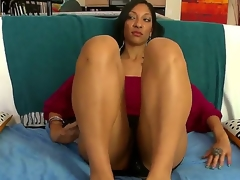 MILF from out of town gets well fucked. Staring Sophia Diaz. This is hardcore interracial hot creamy sex. This dark haired angel is soon on her knees engulfing on a big cock. see her booty and mangos wobble as she then gets a real hard pounding doggy style.