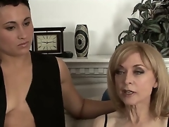 Nina Hartley adores girls and she changes girlfriends very often so this is her recent beloved Syd Blakovich A and you will be greatly impressed to see both in hawt fuck session