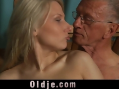 old dick is getting insane in the slutty youthful bawdy cleft