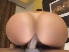 Older with a sexy big gazoo likes anal