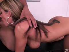 Kristal Summers receive her wish with a big dark dong to nibble on