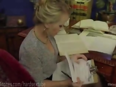 Ultimate MILF Blonde Dominatrix