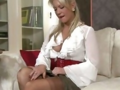 Ashleigh Embers - In my frilly blouse!