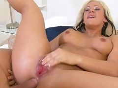 Grab the lotion, and pull up a seat for a spanktastic one-on-one with mature lady Vanessa Gold. This seasoned piece of a-hole acquires fucked, and dick acquires sucked. This Babe's a slut for anal, and can't live out of a gonzo and keeps Mick going till her blows his load all over her fine rear.